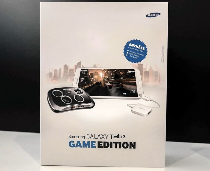 Samsung Galaxy Tab 3 Game Edition Comes With GamePad