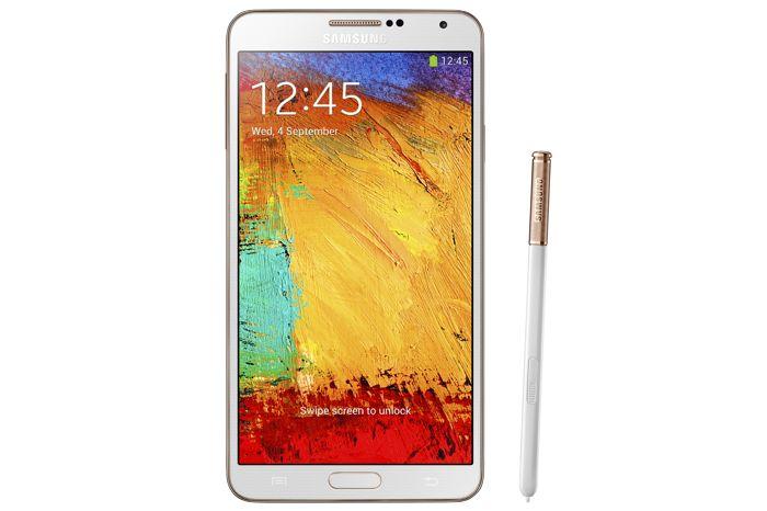 Gold Samsung Galaxy Note 3