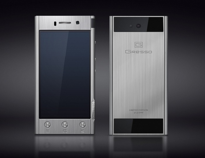 Gresso Unveils Its Luxury Titanium Made Android Handset for $1,800