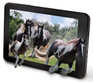 No Glasses 3D Tablet Unveiled by Hammacher Schlemmer