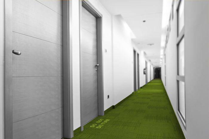 LED-embedded Carpets