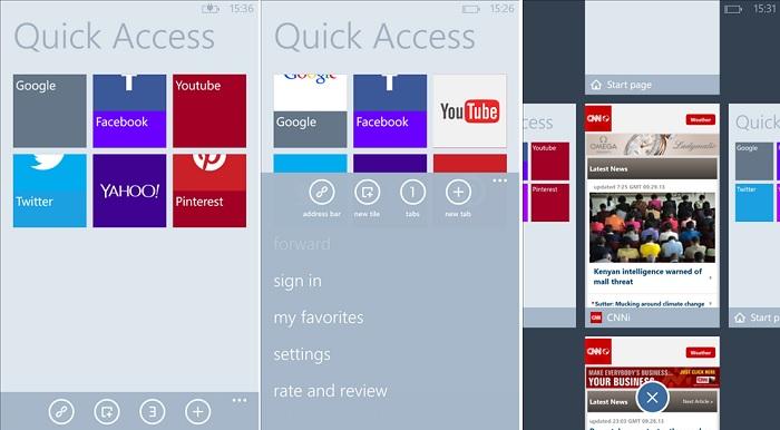 Maxthon for Windows Phone