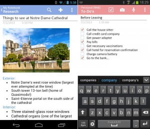 Microsoft OneNote App for Android Receives an Update