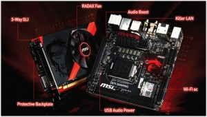 MSI Launches Compact Z871 Gaming AC mini-ITX Mainboard