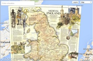 National Geographic Brings Over 500 Historic Maps to Google Maps