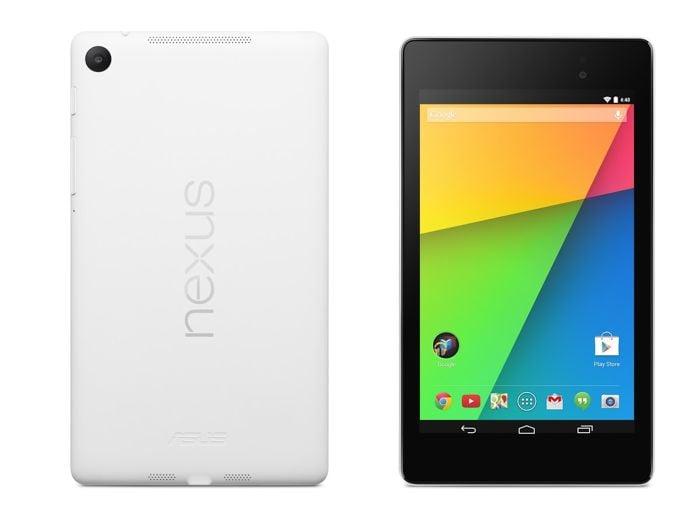 White Nexus 7