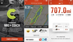Nike+ Running Update with Nike+ Coach Feature