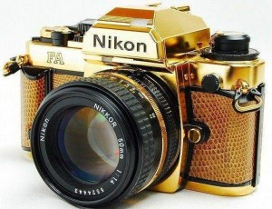 Limited Edition 24k Gold Nikon FA Available On eBay For $12,000