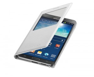 Samsung Wireless Charging S-View Flip Cover for Galaxy Note 3 Now Available for $69