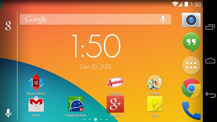 Nova Launcher Update with Lots of KitKat Goodness