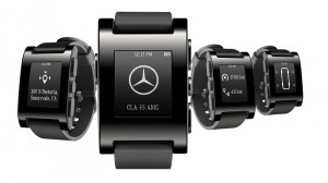 Mercedes Teams Up With Pebble to Launch Smart Watch Application Integrated with the Vehicle
