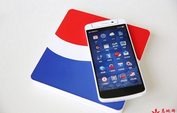 Pepsi edition Oppo N1 shows up in pictures