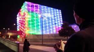Puzzle Facade Is A Giant Playable Rubik's Cube (Video)