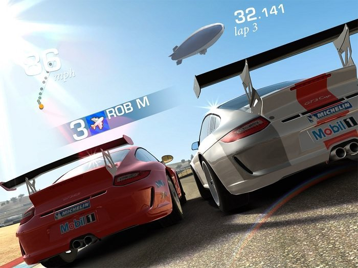 Real Racing 3 For Ios Receives An Update Brings Live