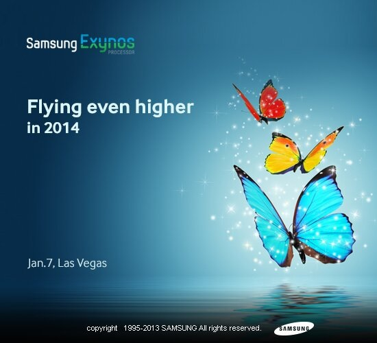 Samsung Exynos Hints To Announce a New Exynos Processor at CES 2014