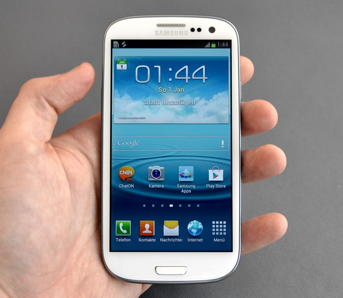 Samsung Galaxy S III-Second Update Is out