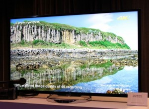 Sony 4K TV To Be Big At CES 2014