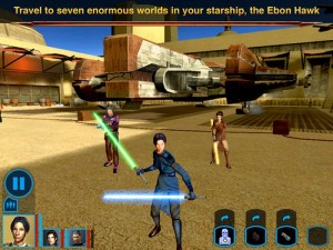 Star Wars: Knights of the Old Republic is about to become a universal iOS app