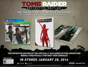 Tomb Raider: Definitive Edition For PS4 And Xbox One