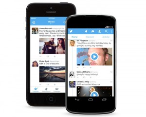Twitter for Android and iOS  Updated, Brings A New Look and Ability to Send Photos in DM