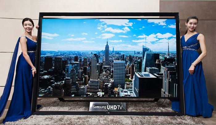 Samsung launches 110-inch Ultra HD television