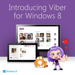 Viber for Windows 8 Now Available, Comes with Live Tiles Support