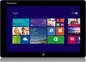 Prestigio Multipad Visconte Windows 8.1 Tablet Announced
