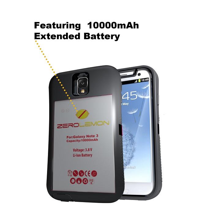 ZeroLemon Note 3 Battery