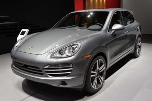 Porsche Cayenne Platinum Edition Shown Off At Detroit Motor Show