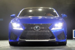 Lexus RF C Sports Coupe Announced At Detroit Motor Show