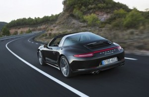 Porsche 911 Targa Photos Leaked