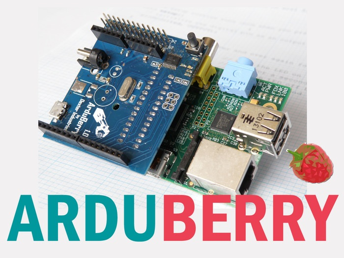 Arduberry combines raspberry pi and arduino video