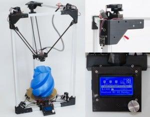 BI V2.0 3D Printer Offers High Precision And Is Self Replicating (video)