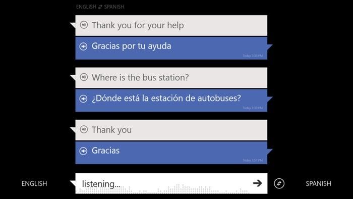 Bing Translator Windows App