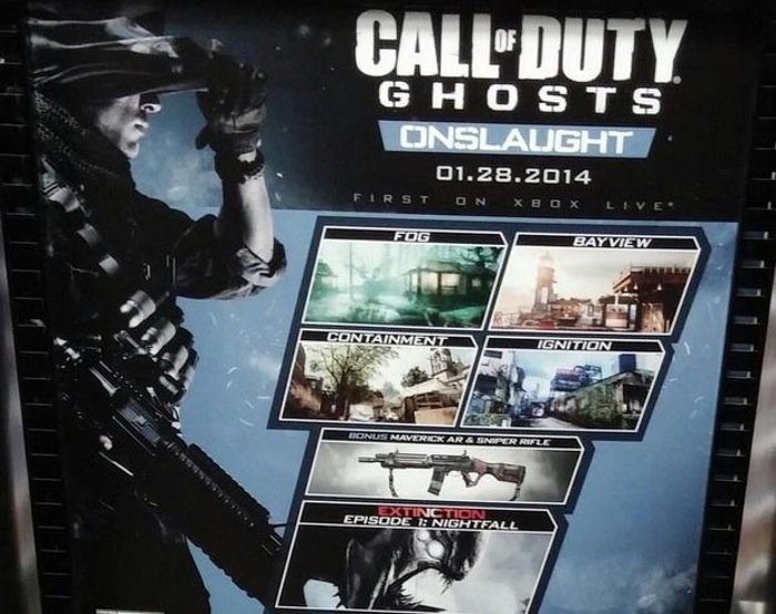 Call Of Duty Ghosts Onslaught Dlc Arriving Jan 28th 2014