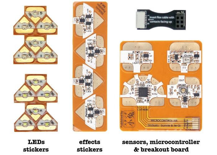 Chibitronics Circuit Stickers