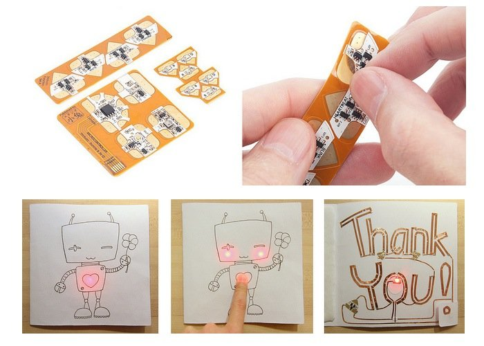Chibitronics Circuit Stickers