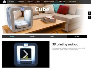 3D Systems Announces Cubify 2.0 At CES 2014