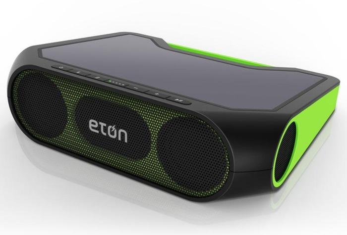 Eton Rukus Xtreme Solar Powered Bluetooth Speaker
