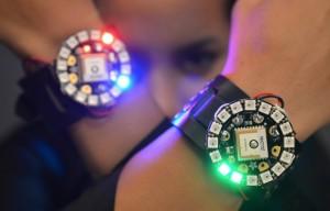 Arduino FLORA GPS NeoGeo Watch Created By Adafruit (video)