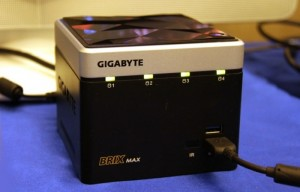 Gigabyte Brix Max Offers 4TB Of Storage And Intel Haswell Processor (video)