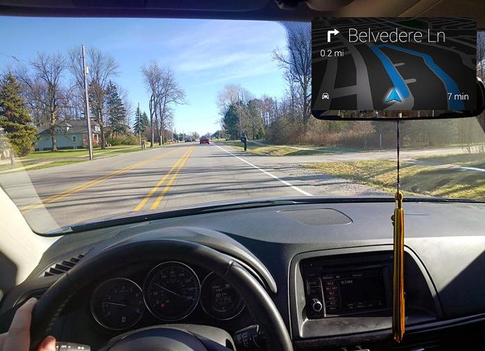 Google Glass Drivesafe