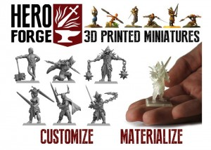 Hero Forge 3D Print Service Brings Your RPG Character To Life (video)