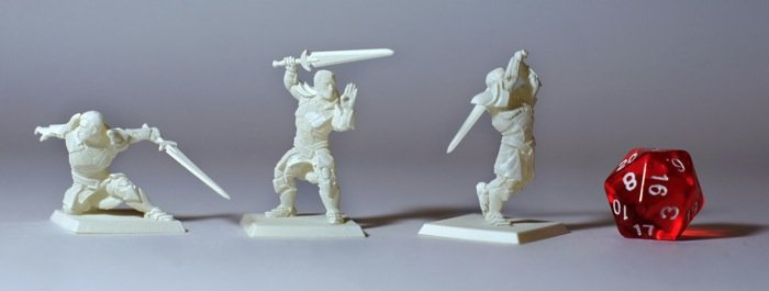Hero Forge 3d Print Service Brings Your Rpg Character To