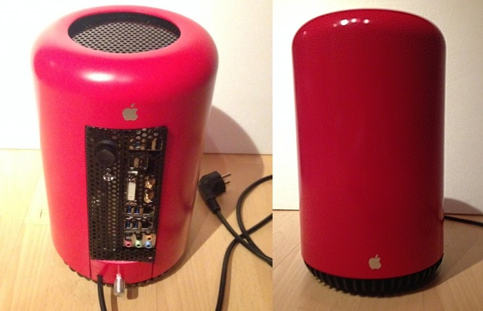 Mac Pro Hackintosh Made Using A Bathroom Trash Can
