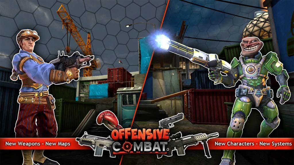 Offensive combat 2