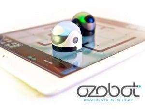 Ozobot Intelligent Game Piece Offers Both Physical And Digital Gameplay (video)