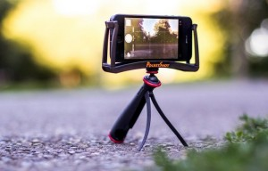 PocketShot Smartphone Tripod Adapter Grips Any Smartphone
