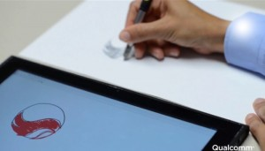 Qualcomm Ultra Sound NotePad Digitises Your Notes (video)