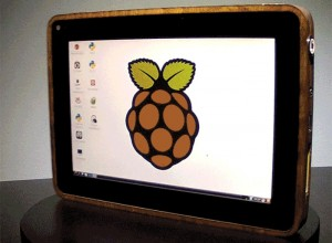PiPad Raspberry Pi Tablet Built By Michael Castor